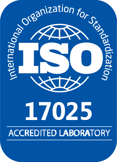 ISO17025 laboratory certification seal