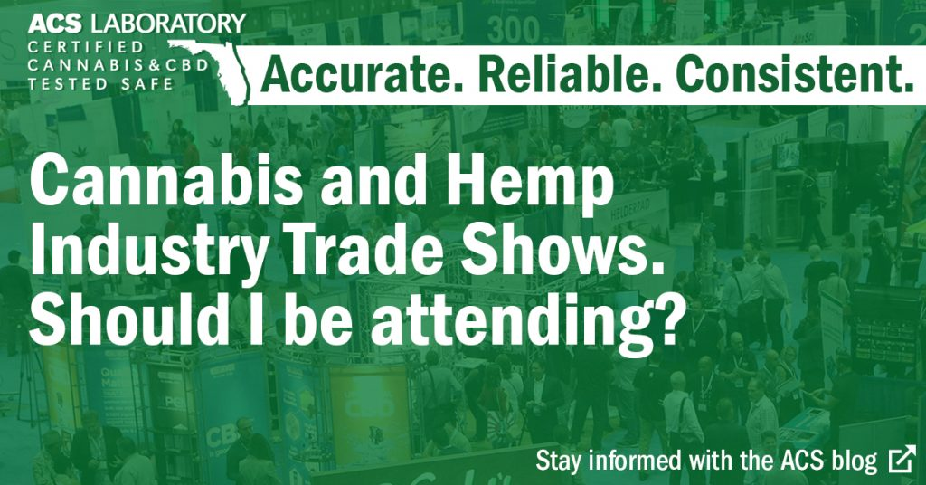 hemp and cannabis trade shows: how to choose the right one.