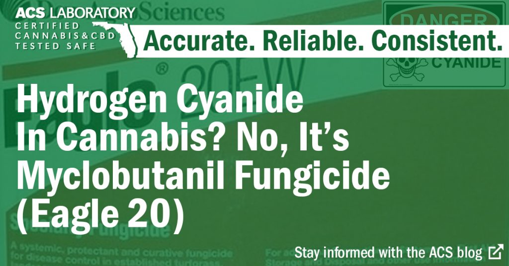 bottle of eagle 20 fungicide myclobutanil