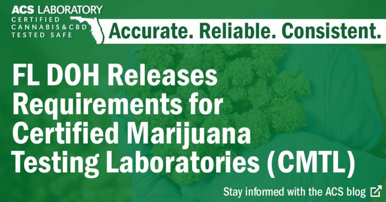 florida doh requirements for cannabis labs
